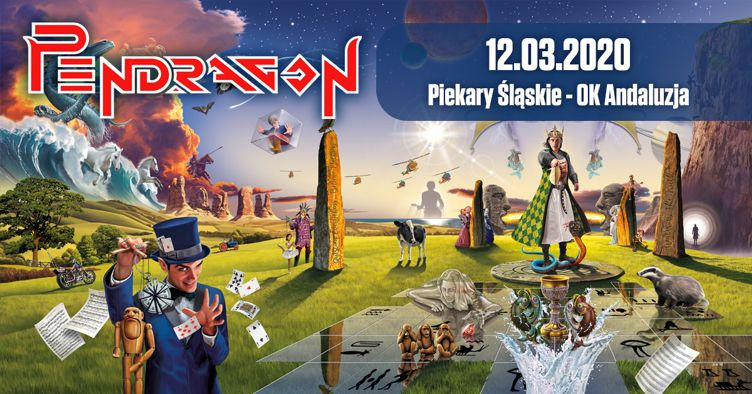 Pendragon 40 years poster